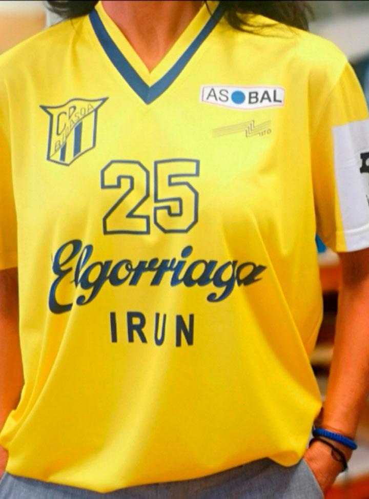 Hazlan Irun Ropa Deportiva personalizada para Balomano