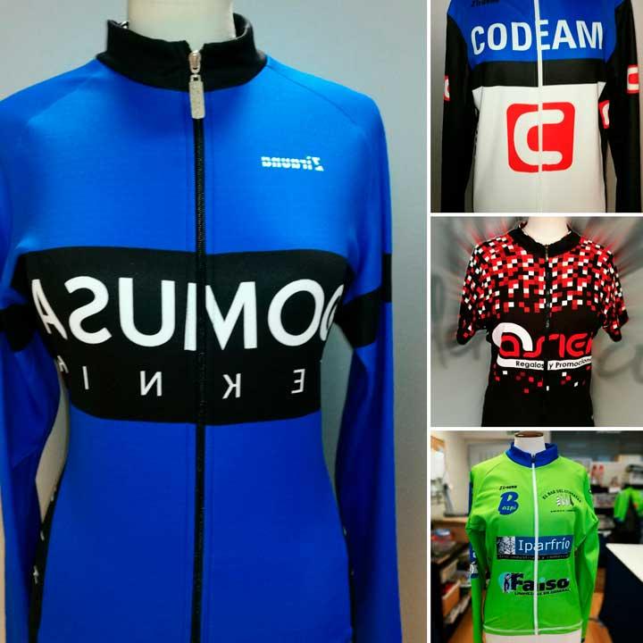 Ropa de Deporte Personalizada Ciclismo. En Hazlan confeccionamos la Ropa de Deporte para darle un toque de distinción a tu Club de Ciclismo.